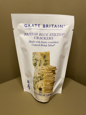 British Blue Stilton Crackers