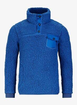 JR Sherpa Sweater, Regal Blue