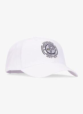 Active Cap-Badge, White