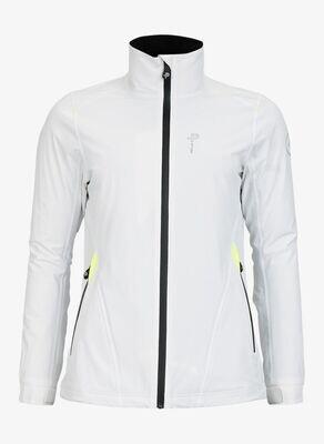 W Crew Jacket, White