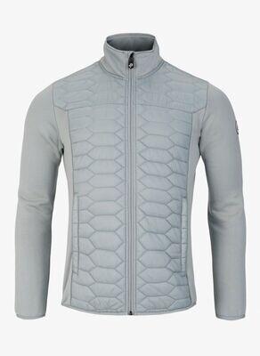 Levo Quilted Zip, Light Grey Aluminium