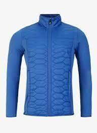 Levo Quilted Zip, Regal Blue