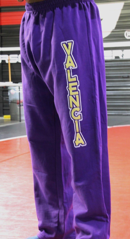 9.2. Cotton Long Pants - Purple