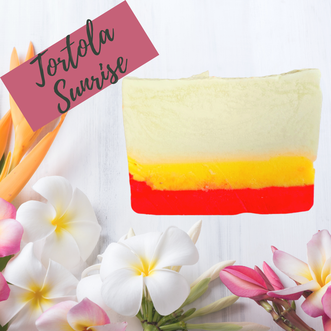 Tortola Sunrise Bar Soap