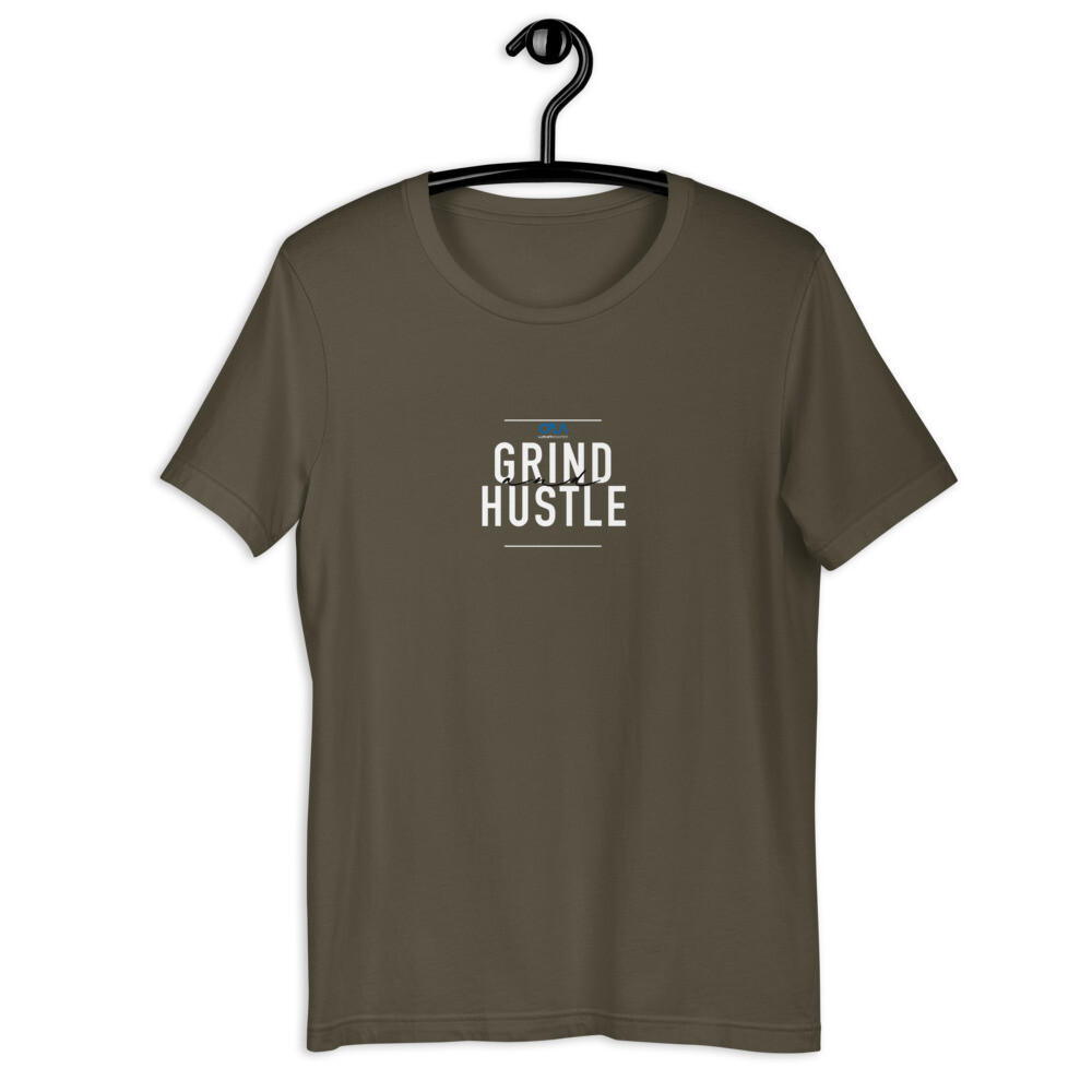 Grind and Hustle T-Shirt Inspired by Tom Callaghan