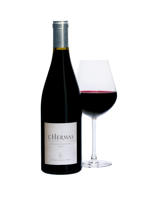 6 bouteilles L'HERMAS ROUGE - Millésime 2018 - AOC Terrasses du Larzac