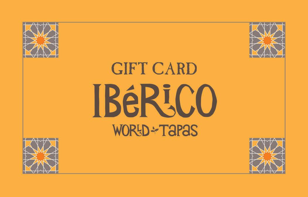 Iberico World Tapas Nottingham Gift Card