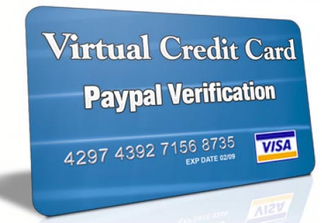 Virtual Credit Card (VCC) For Paypal Account