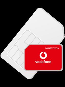 Vodafone Prepaid SIM Karte inkl. 10€ Guthaben