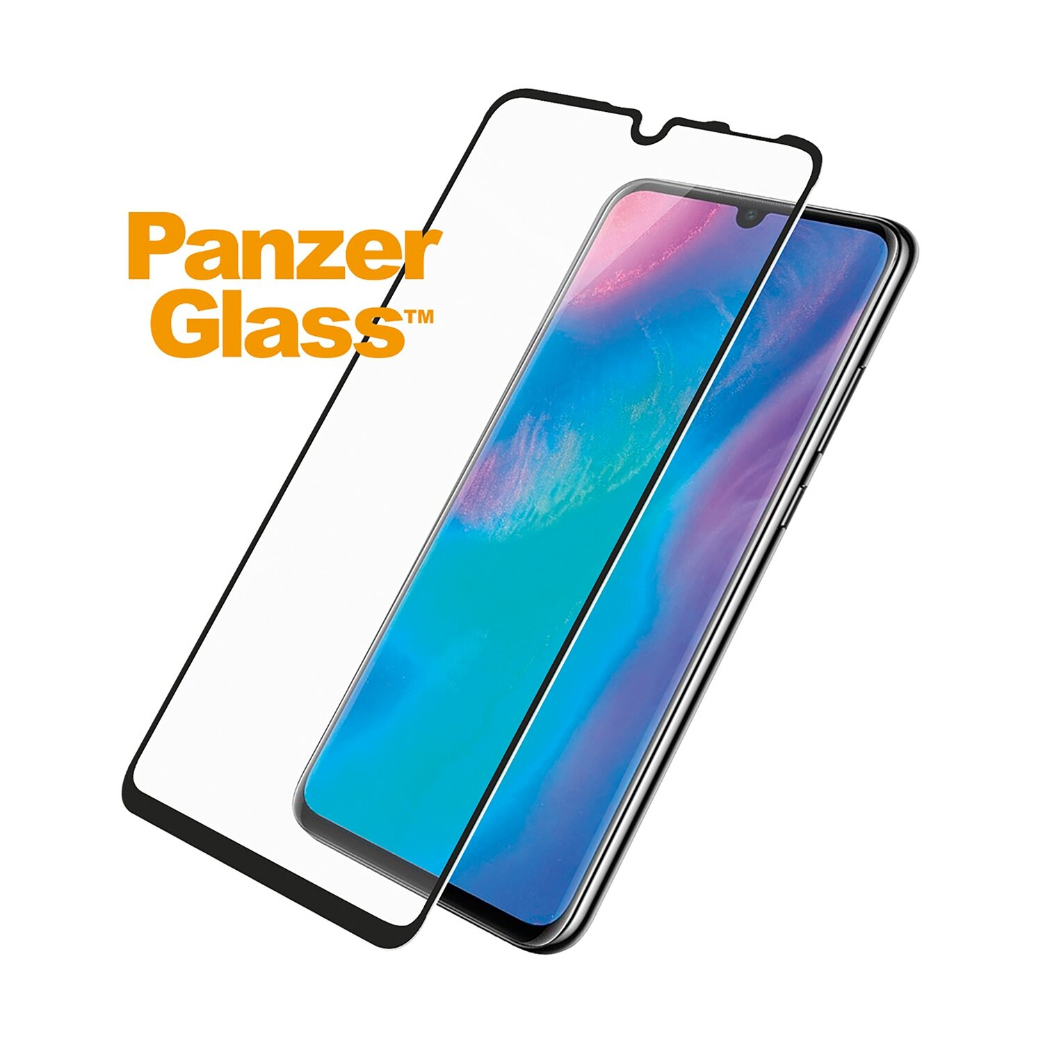 PanzerGlass Edge to Edge for P30 Lite black