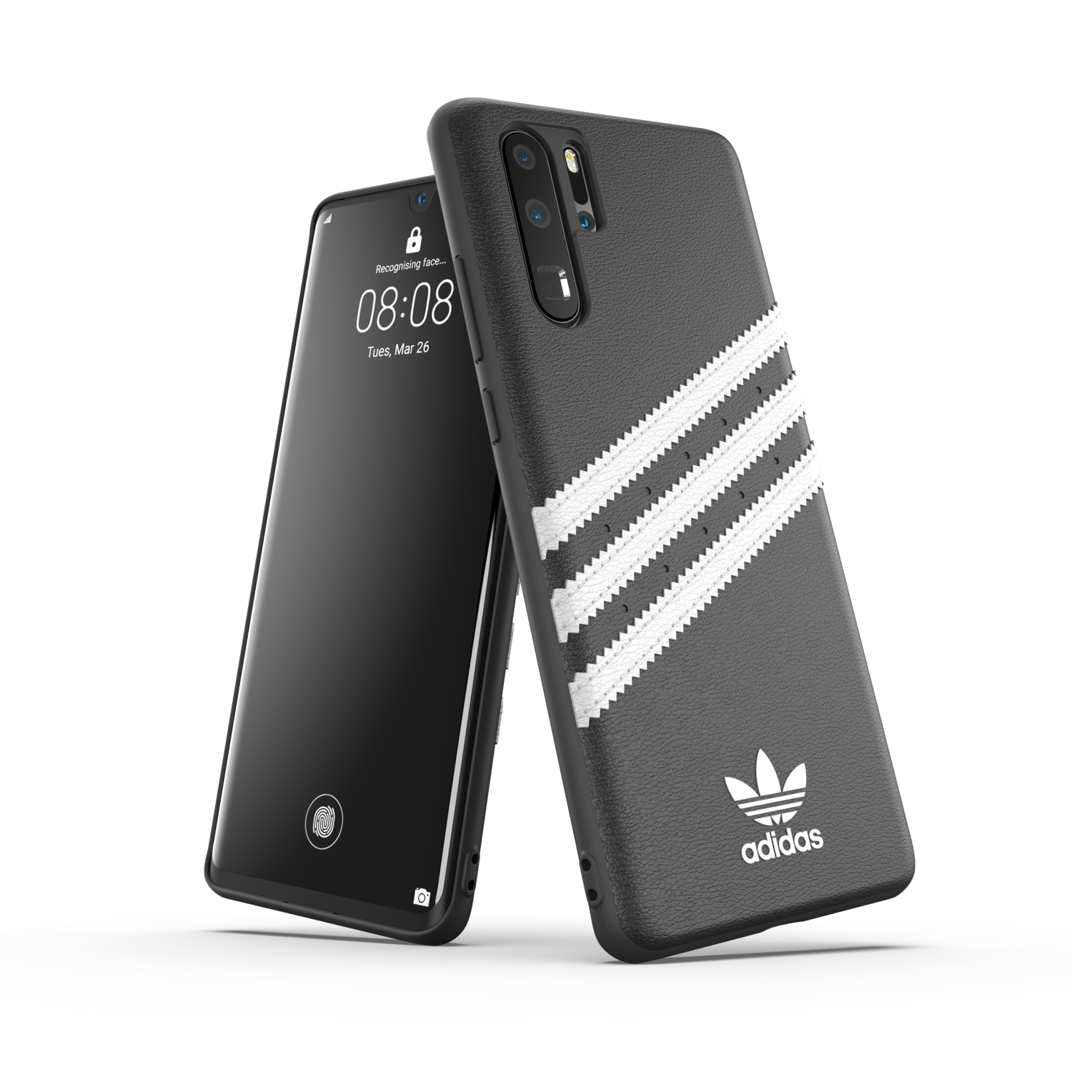 adidas OR Moulded Case PU FW19/SS21 for P30 Pro black/white