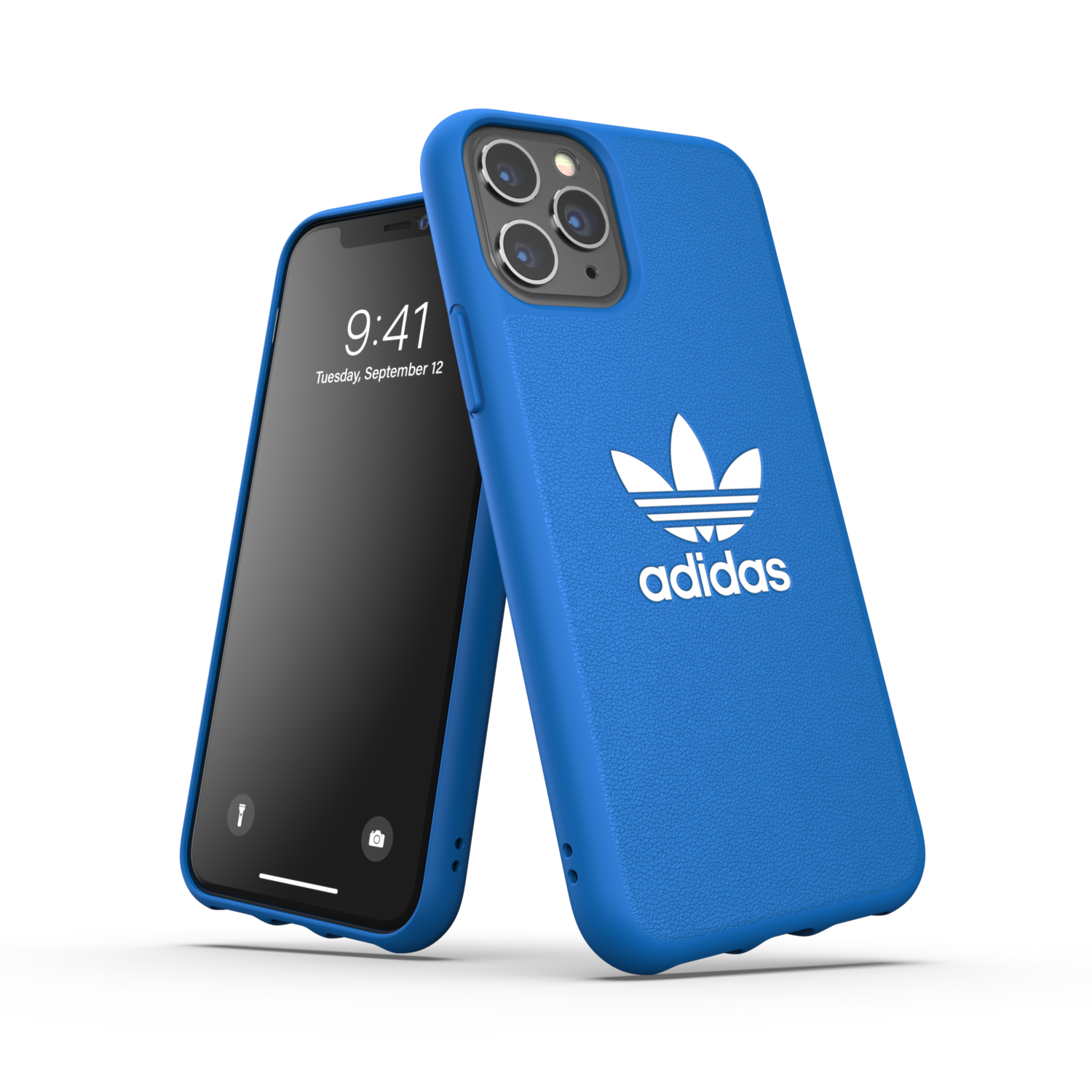 adidas OR Moulded Case Basic FW19/SS21 for iPhone 11 Pro bluebird/white