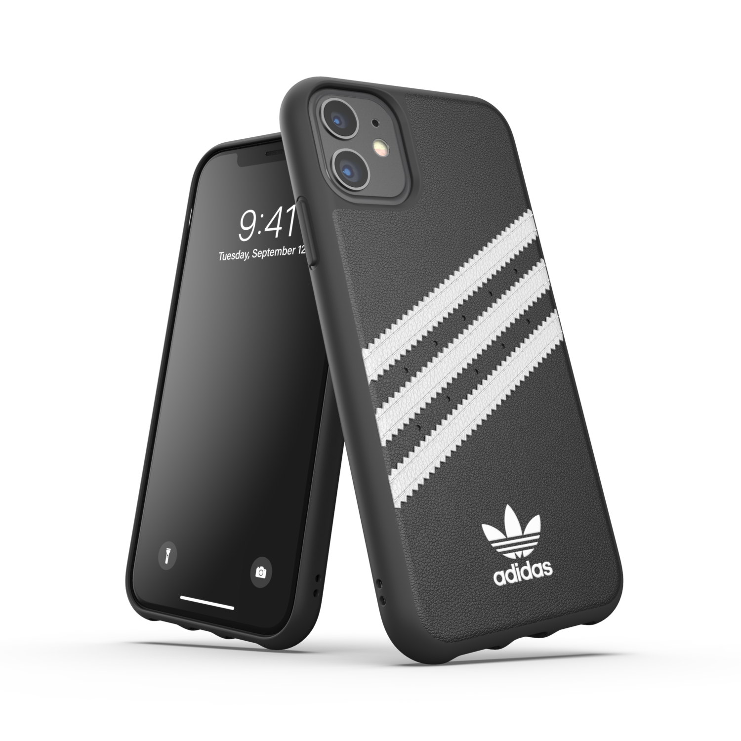 adidas OR Moulded Case PU FW19/SS21 for iPhone 11 black/white