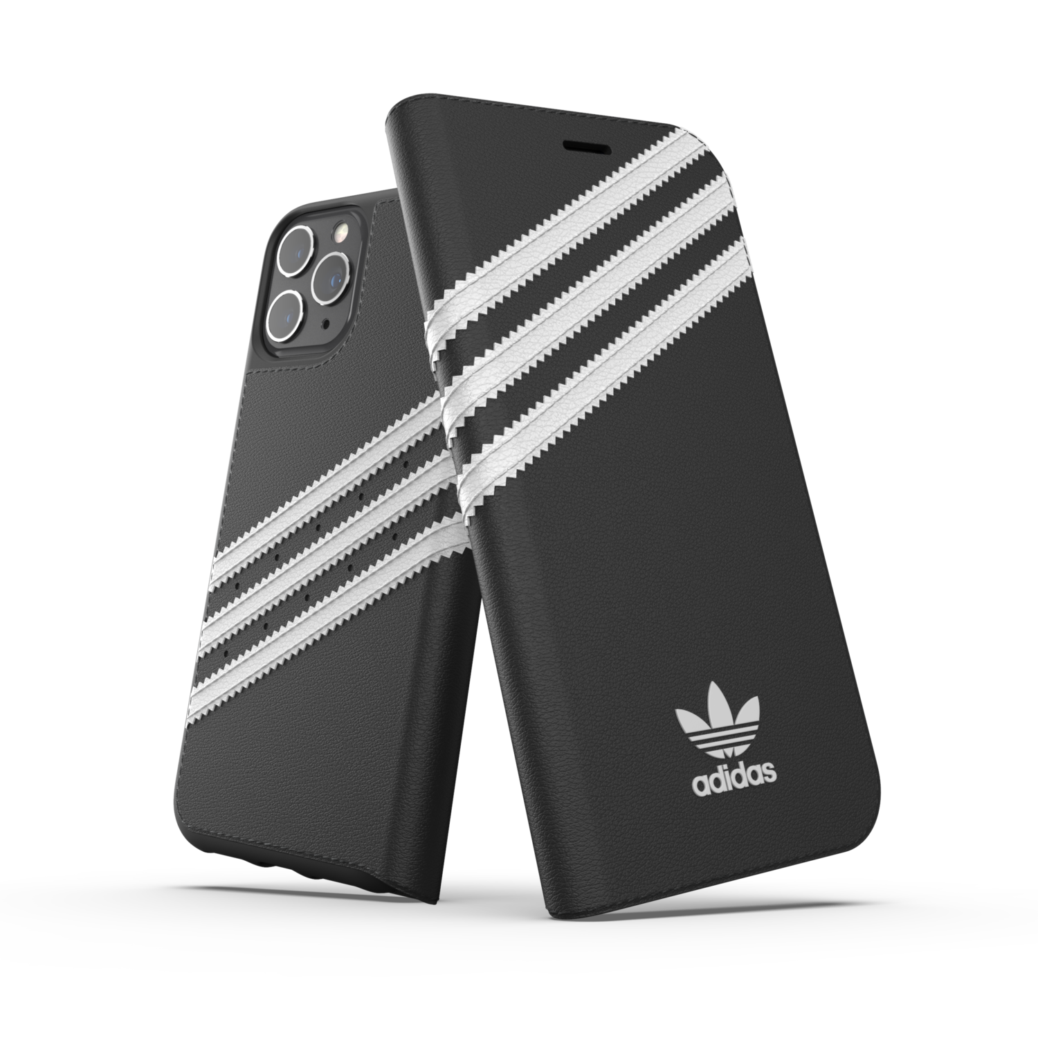 adidas OR Booklet Case PU FW19/SS21 for iPhone 11 Pro black/white