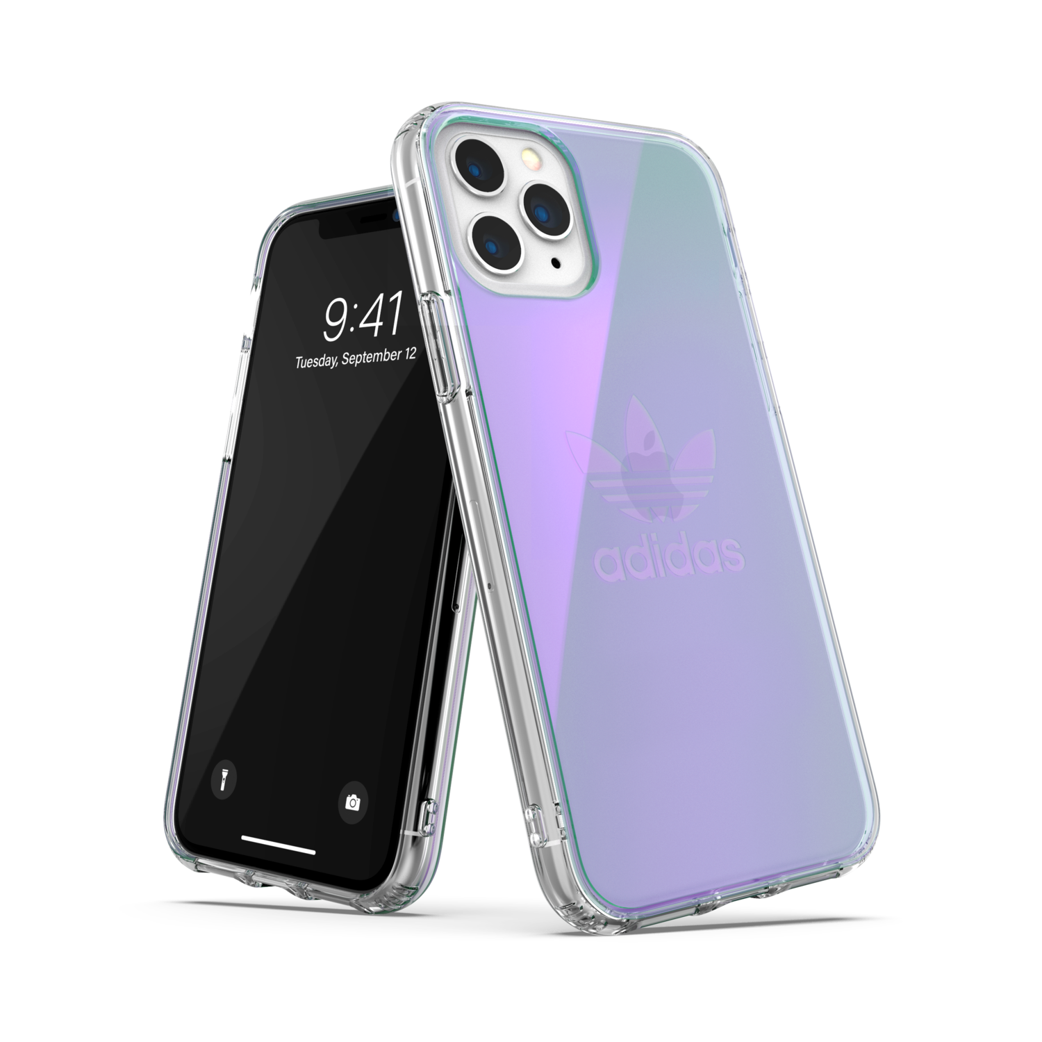 adidas OR Protective Clear Case SS20 for iPhone 11 Pro colourful