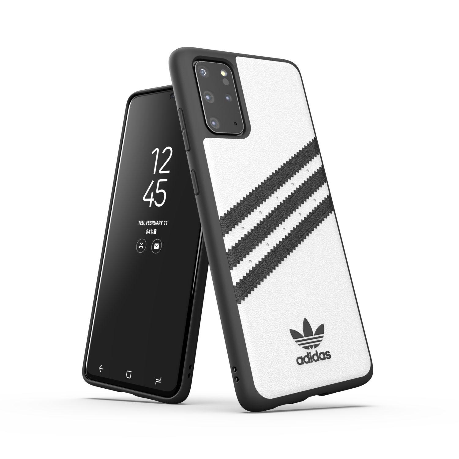 adidas OR Moulded Case PU SS20/SS21 for Galaxy S20+ white/black