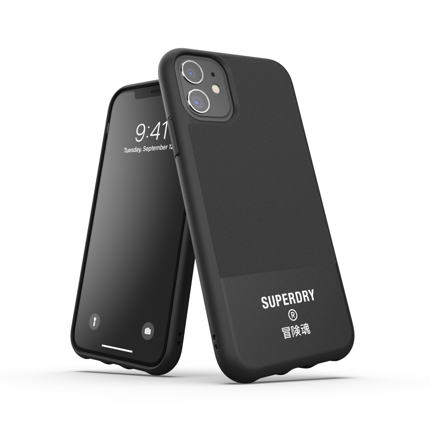 Superdry Moulded Case Canvas FW20/SS21 for iPhone 11 black