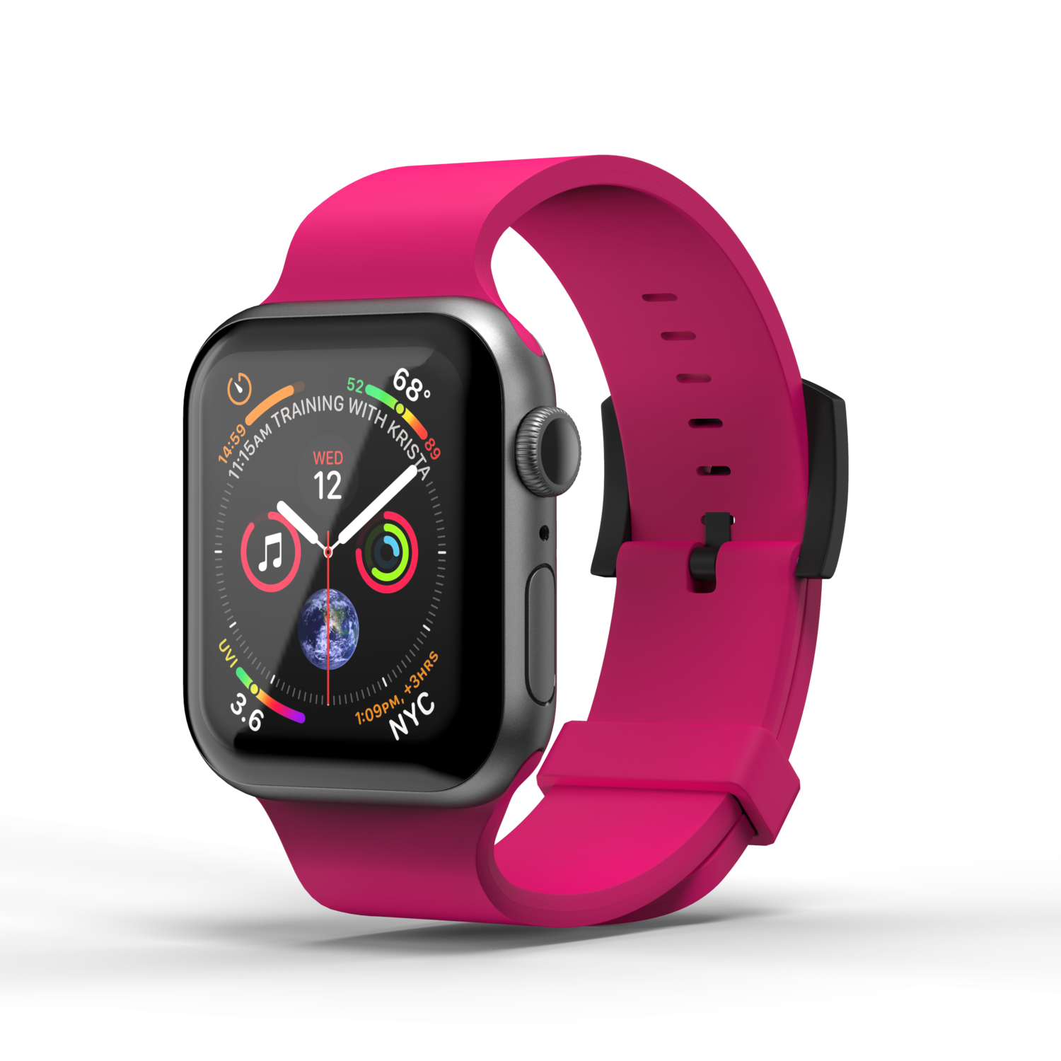 Superdry Watchband FW20/SS21 for Apple Watch 38/40 mm pink
