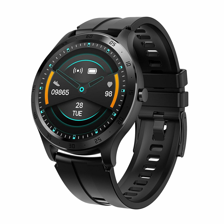 XQISIT Premium Acrive Watch Pro black