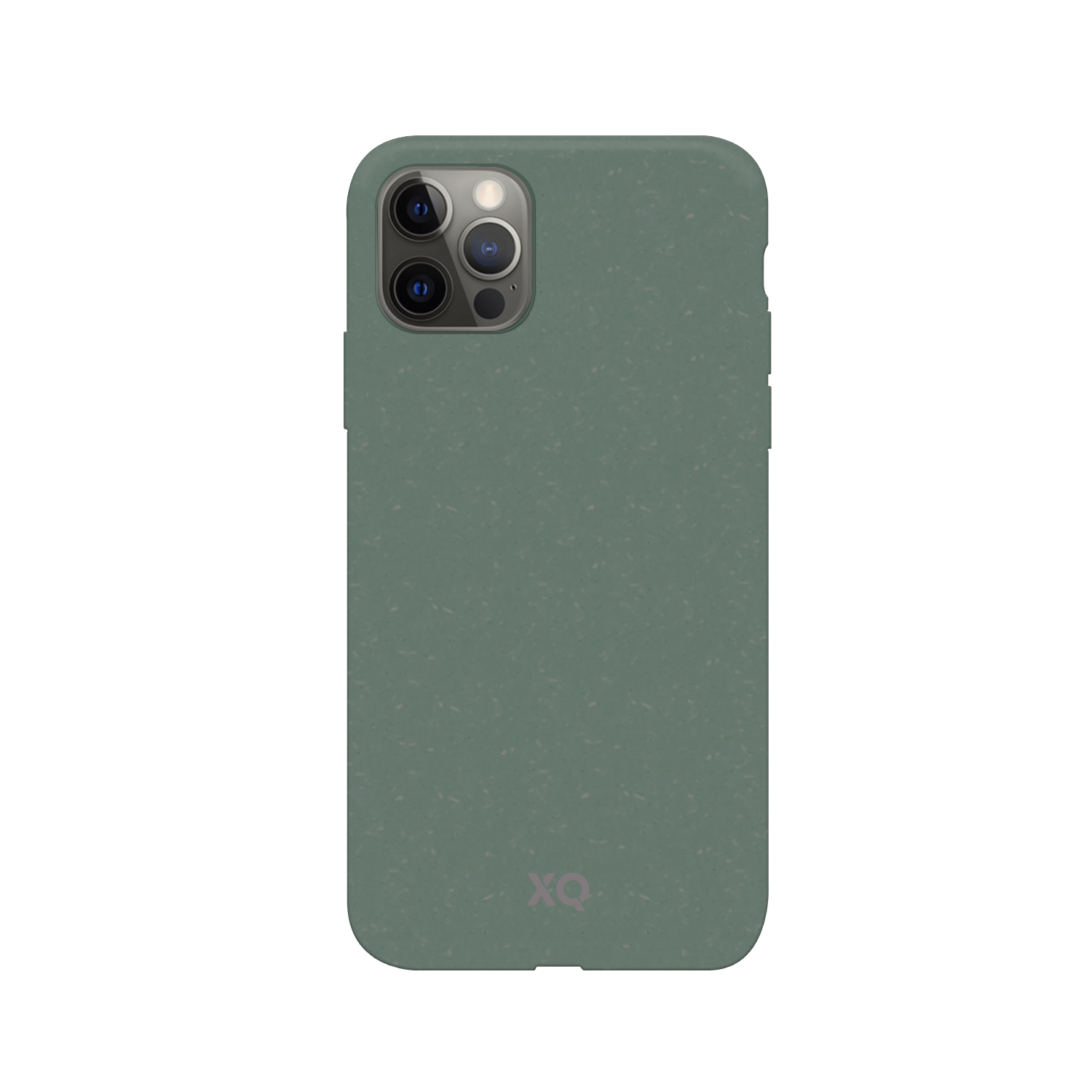 XQISIT Eco Flex Anti Bac for iPhone 12 / 12 Pro palm green
