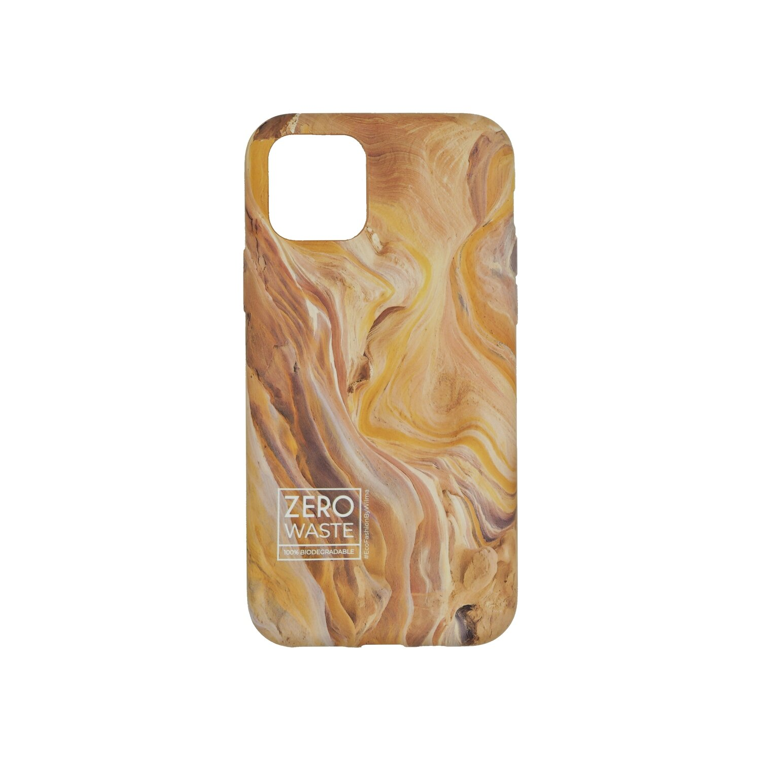 Wilma Climate Change Canyon Creme for iPhone 12 mini White