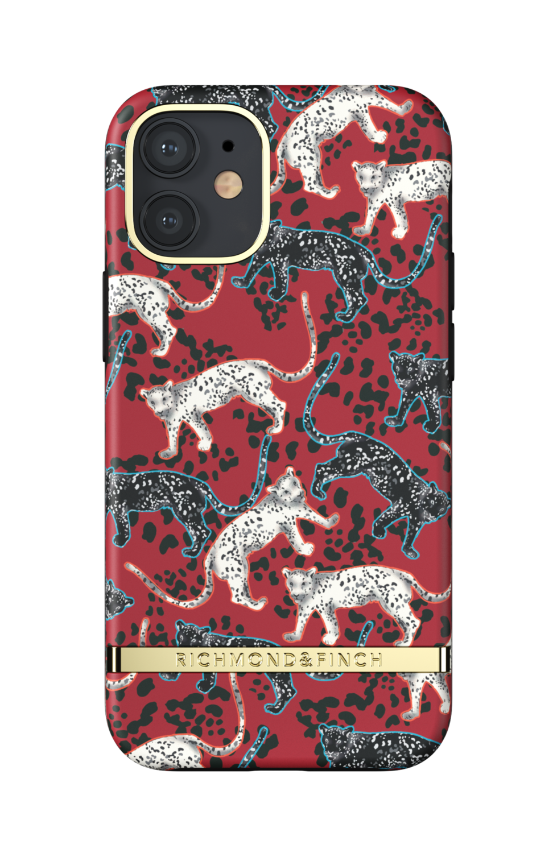 Richmond & Finch Samba Red Leopard for iPhone 12 mini red