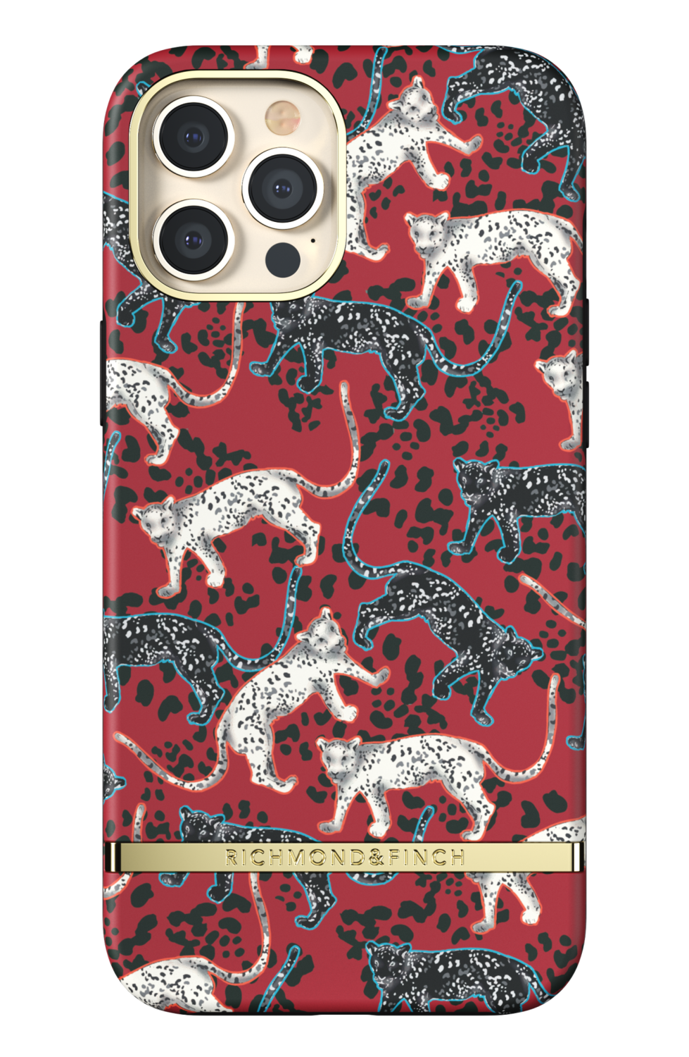 Richmond & Finch Samba Red Leopard for iPhone 12 Pro Max red