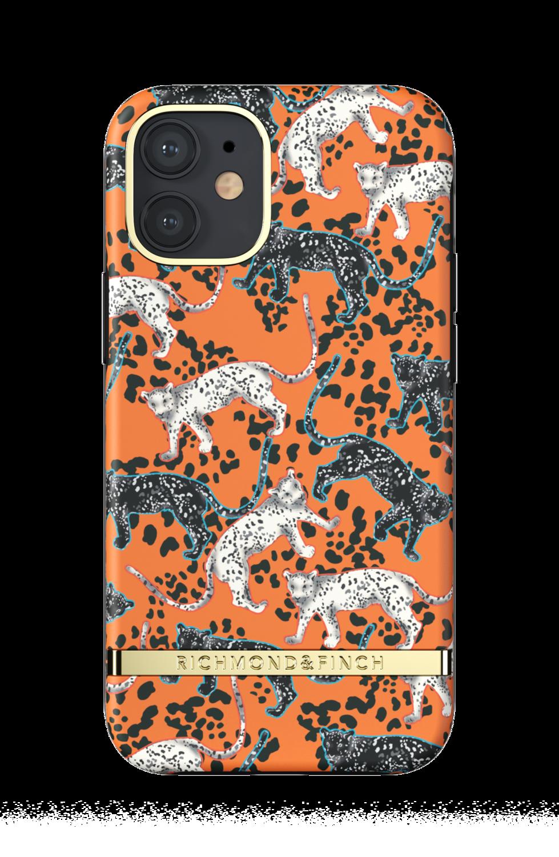 Richmond & Finch Orange Leopard for iPhone 12 mini Orange