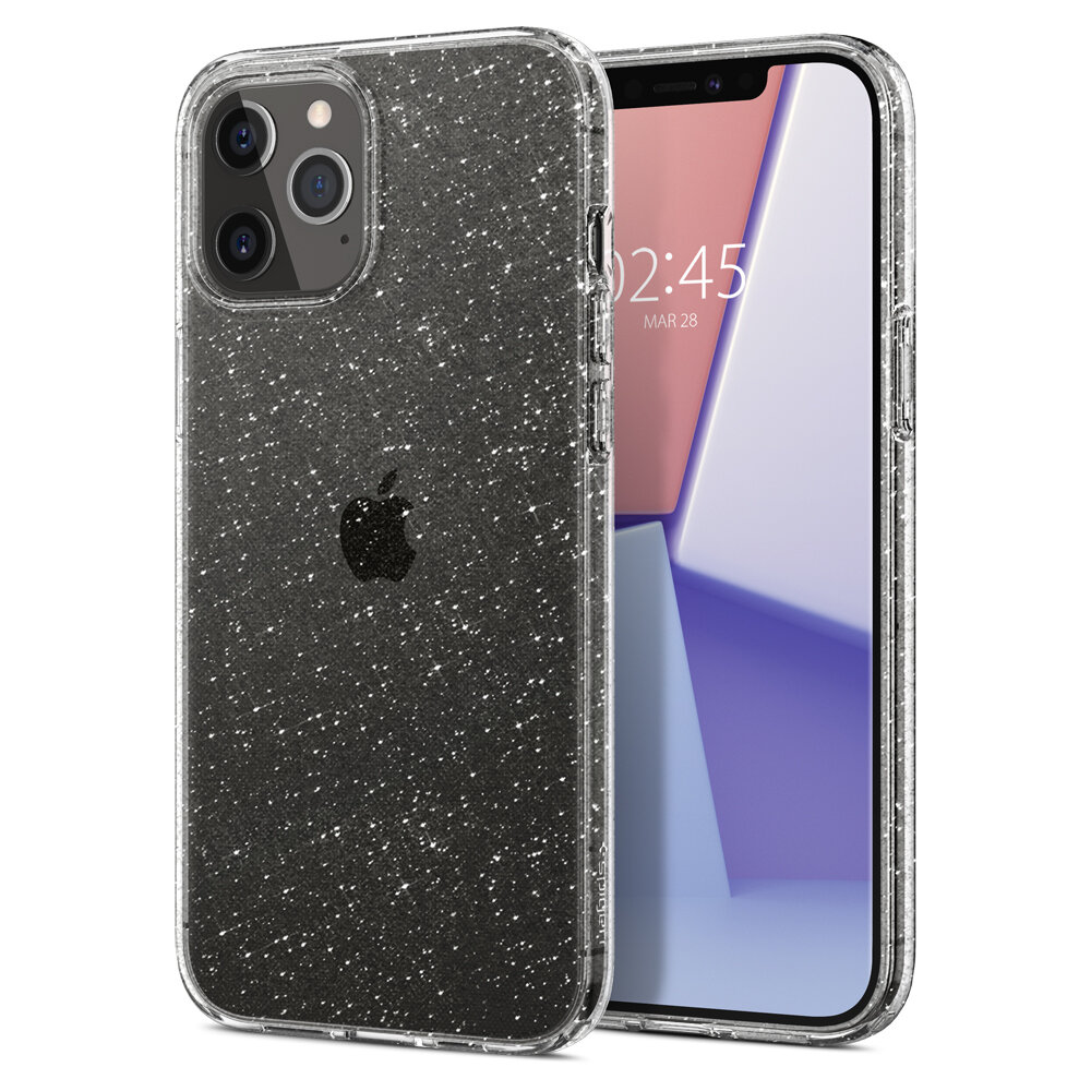 Spigen Liquid Crystal for iPhone 12 Pro Max crystal quartz
