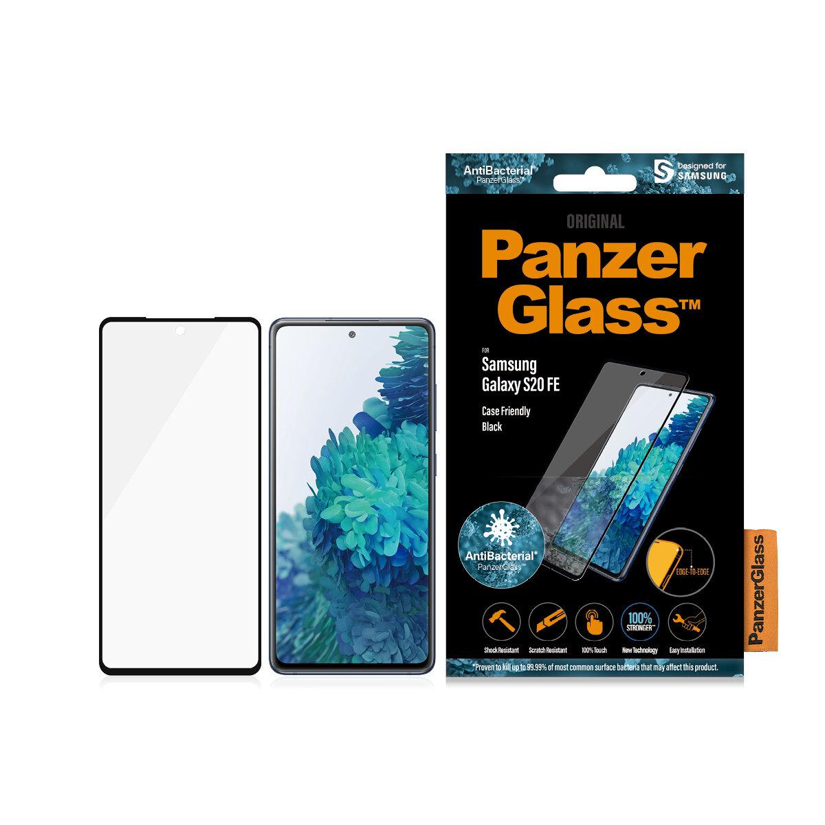 PanzerGlass Case Friendly for Galaxy S20 Fan Edition black