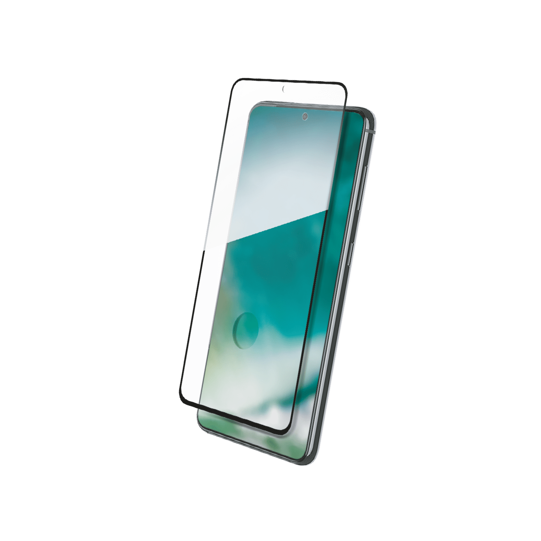 XQISIT Tough Glass E2E for Galaxy S21 clear