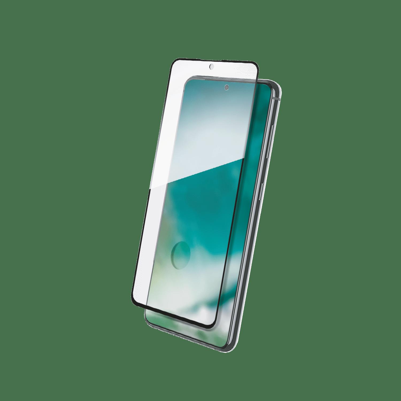 XQISIT Tough Glass E2E for Galaxy S21+ clear