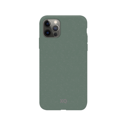 XQISIT Eco Flex Anti Bac for iPhone 12 Pro Max palm green
