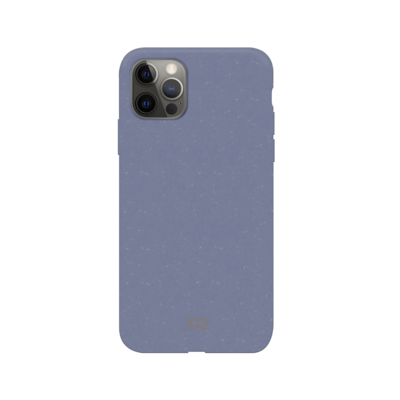 XQISIT Eco Flex Anti Bac for iPhone 12 Pro Max lavender blue