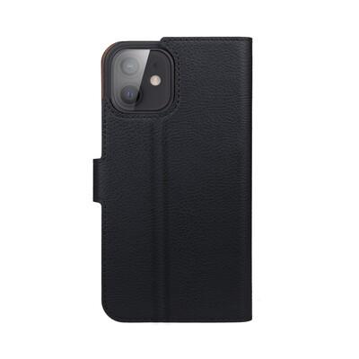 XQISIT Slim Wallet Selection Anti Bac for iPhone 12 mini black