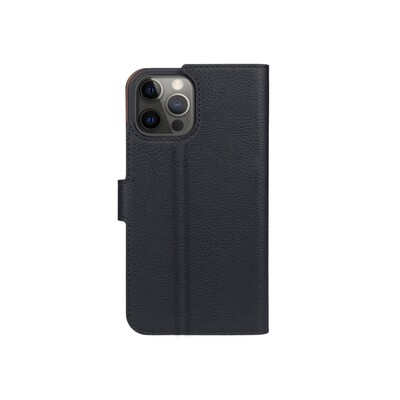 XQISIT Slim Wallet Selection Anti Bac for iPhone 12 / 12 Pro black