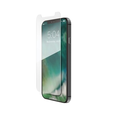XQISIT Tough Glass CF flat for iPhone 12 Pro Max clear