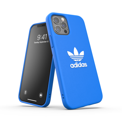 adidas OR Moulded Case Basic FW20/SS21 for iPhone 12 / 12 Pro bluebird/white