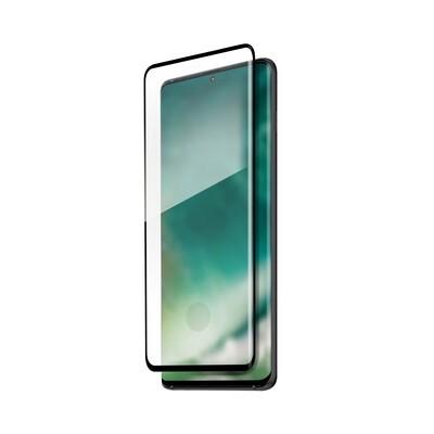 XQISIT Tough Glass E2E for Galaxy S20 black