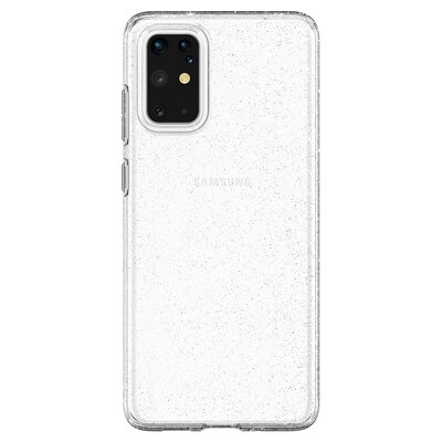 Spigen Liquid Crystal Glitter for Galaxy S20+ crystal quartz