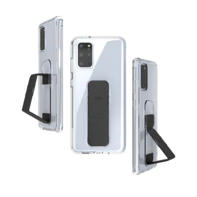 CLCKR CLEAR GRIPCASE SS20 for Galaxy S20+ clear/black