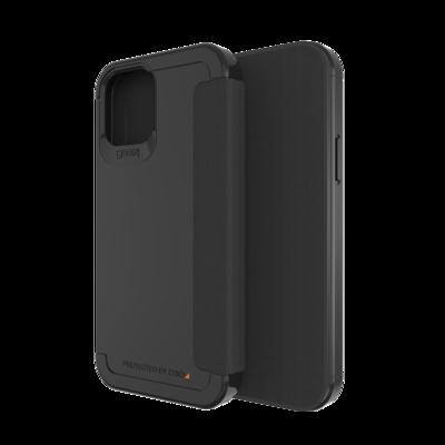 GEAR4 Wembley Flip for iPhone 12 / 12 Pro black