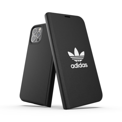 adidas OR Booklet Case Basic FW20/SS21 for iPhone 12 / 12 Pro black/white