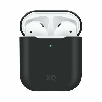XQISIT Silicone Case for AirPods black