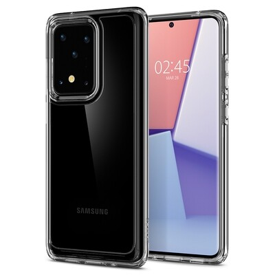 Spigen Ultra Hybrid for Galaxy S20 Ultra crystal clear