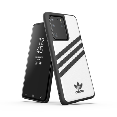 adidas OR Moulded Case PU SS20/SS21 for Galaxy S20 Ultra white/black