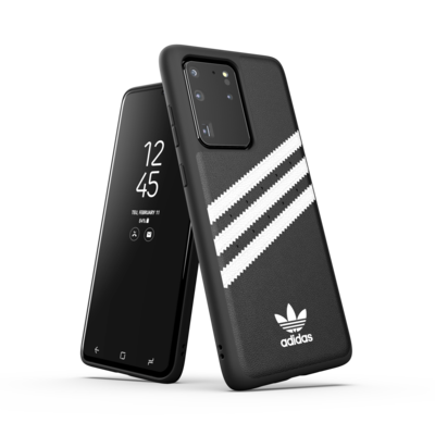 adidas OR Moulded Case PU SS20/SS21 for Galaxy S20 Ultra black/white