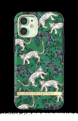 Richmond & Finch Green Leopard for iPhone 12 mini green