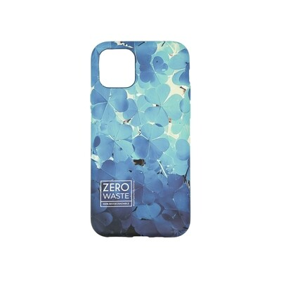 Wilma Climate Change Clover for iPhone 12 mini blue