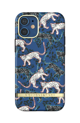 Richmond & Finch Blue Leopard for iPhone 12 mini blue